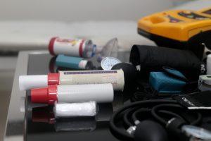 Materiais utilizadas na sala de monitoramento.